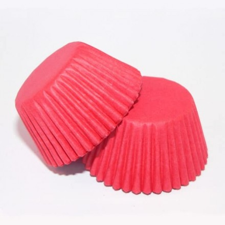 Red Cupcake Cases ROLL OF 180