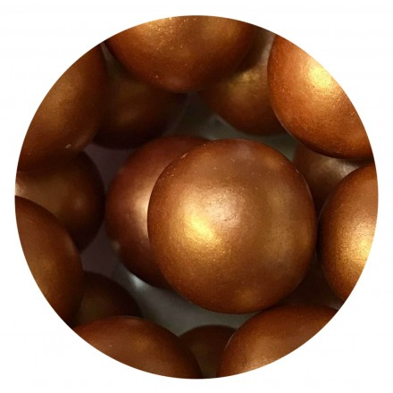 Rose Gold/Copper Chocoballs - Extra Large 80g