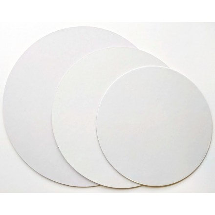 White Poly Coated Cards