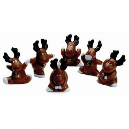 Fun Rudolph Picks - Pack of 5
