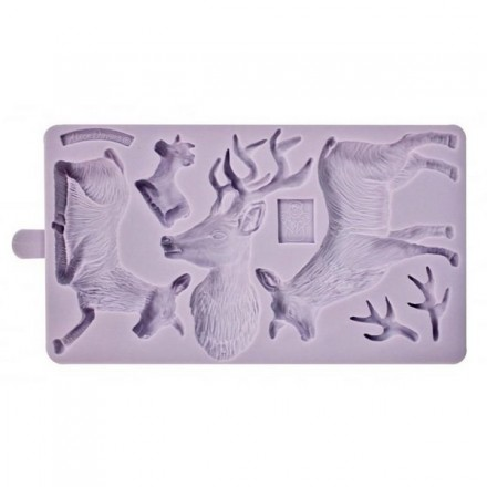 Rustic Stag Mould
