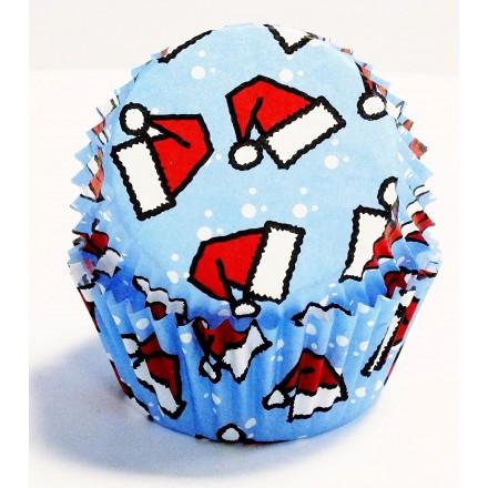 Santa Hat Cupcake Cases
