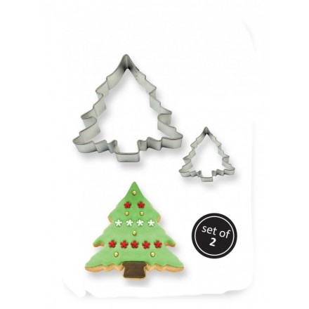Christmas Tree Cutter set of 2