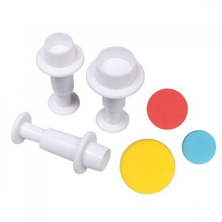 Circle Plunger Cutters (set of 3)