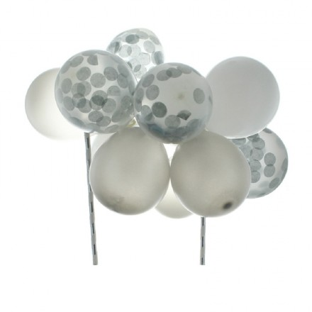 Silver Balloon Clouds