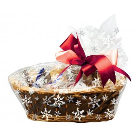 Snowflake Basket Bags (pack of 6)