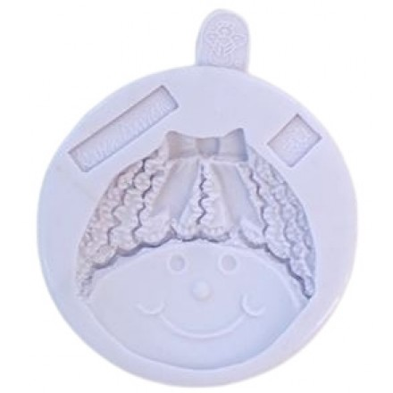 Snowman with a Bow Mould