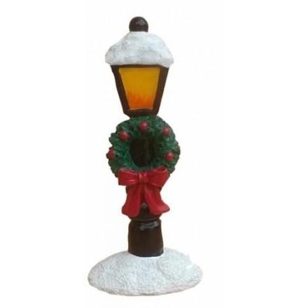 Snowy Lamp Post Topper