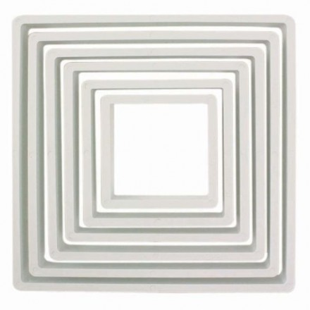 Square Cutters (Set of 6)