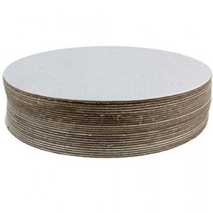 Round Cut Edge Cake Cards
