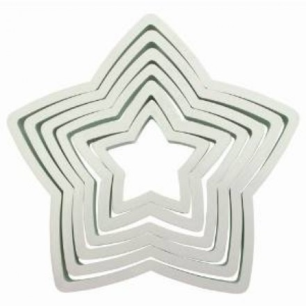 Star Cutters (Set of 6)