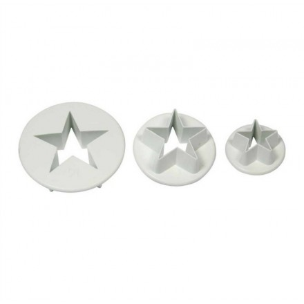 Star Cutters (Set of 3)