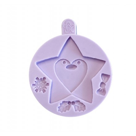 Star Penguin Cookie Mould