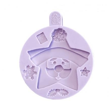 Star Santa Cookie Mould