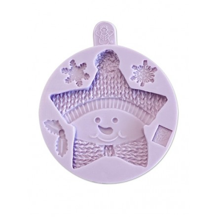Star Snowman Cookie Mould