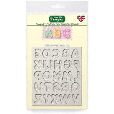 Small Stitched Alphabet Mould