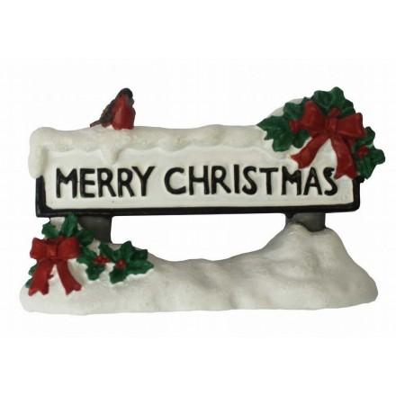 Merry Christmas Street Sign