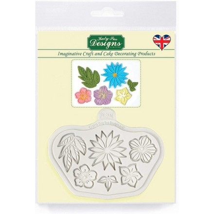 Stylised Flowers Mould