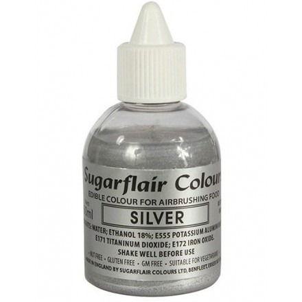 Sugarflair Airbrush - Metallic Colours