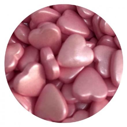 Pink Heart Tablet Sprinkles