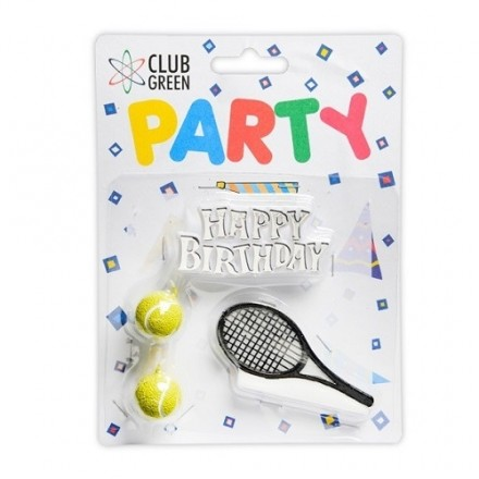 Tennis Candle and Motto Set