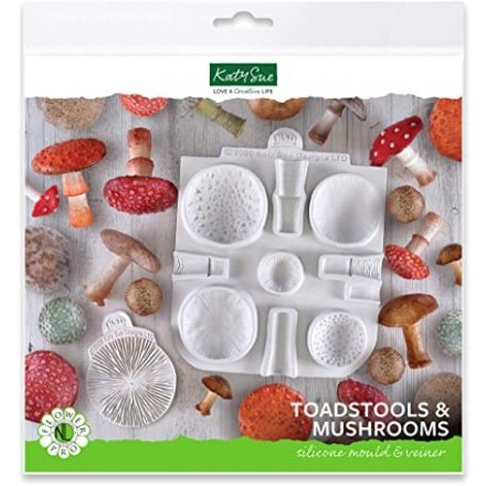 Toadstools and Mushrooms Mould and Veiner