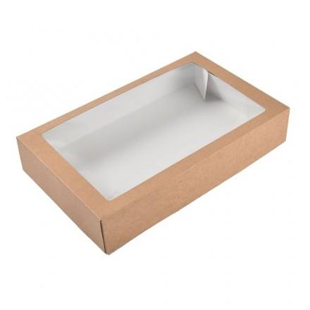 Kraft Traybake Box - Set of 10