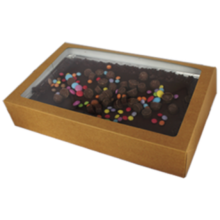 Kraft Traybake Box and Foil - Set of 10