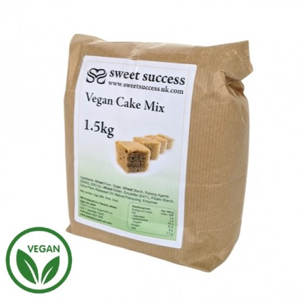Plain Vegan Cake Mix