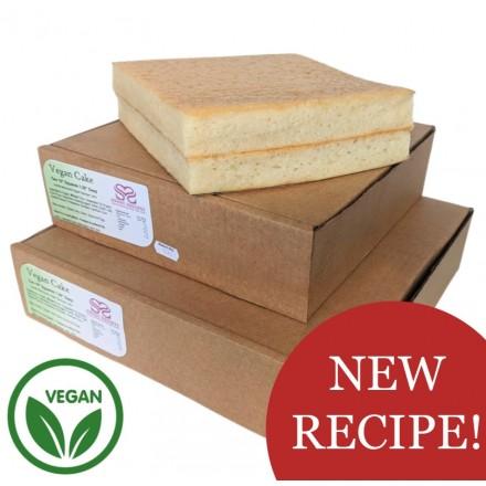 Eggless / Vegan Sponge Cake