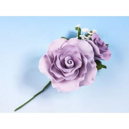 Vintage Rose Spray Lilac