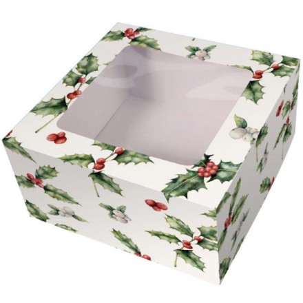 *PACK OF 5* Christmas Cake Boxes
