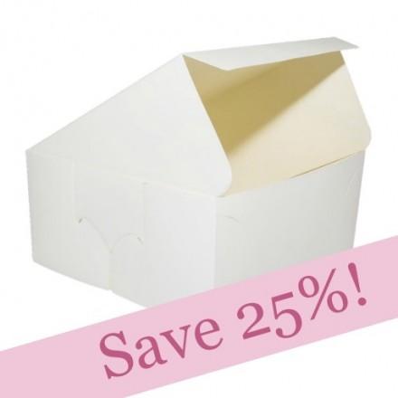 BULK PACKS OF 250 Folding Cake Boxes