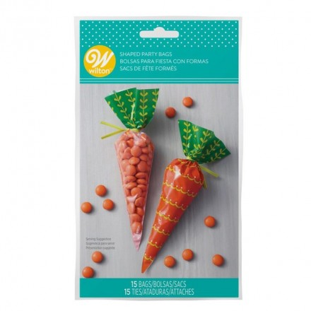 Carrot Shaped Party Bags