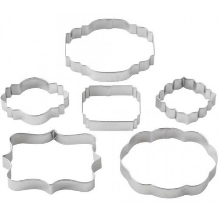 Wilton Plaque Cutters Set of 6