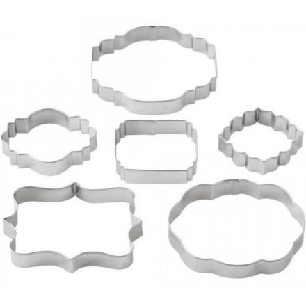 Wilton Plaque Cutters Set of 6