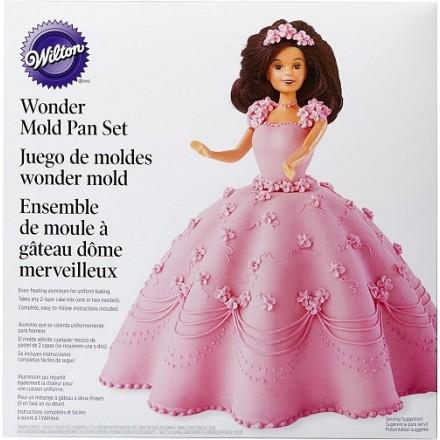 Wilton Wonder Doll Pan Set