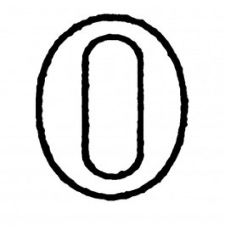 XL Number '0' Cutter