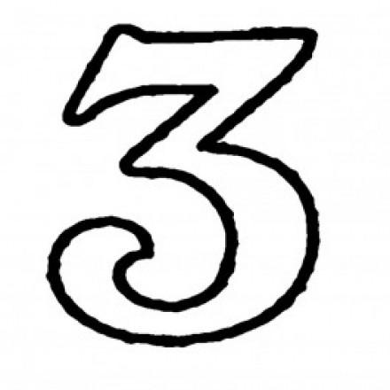 XL Number '3' Cutter