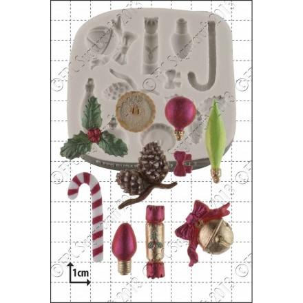 Xmas Mini Decorations Mould