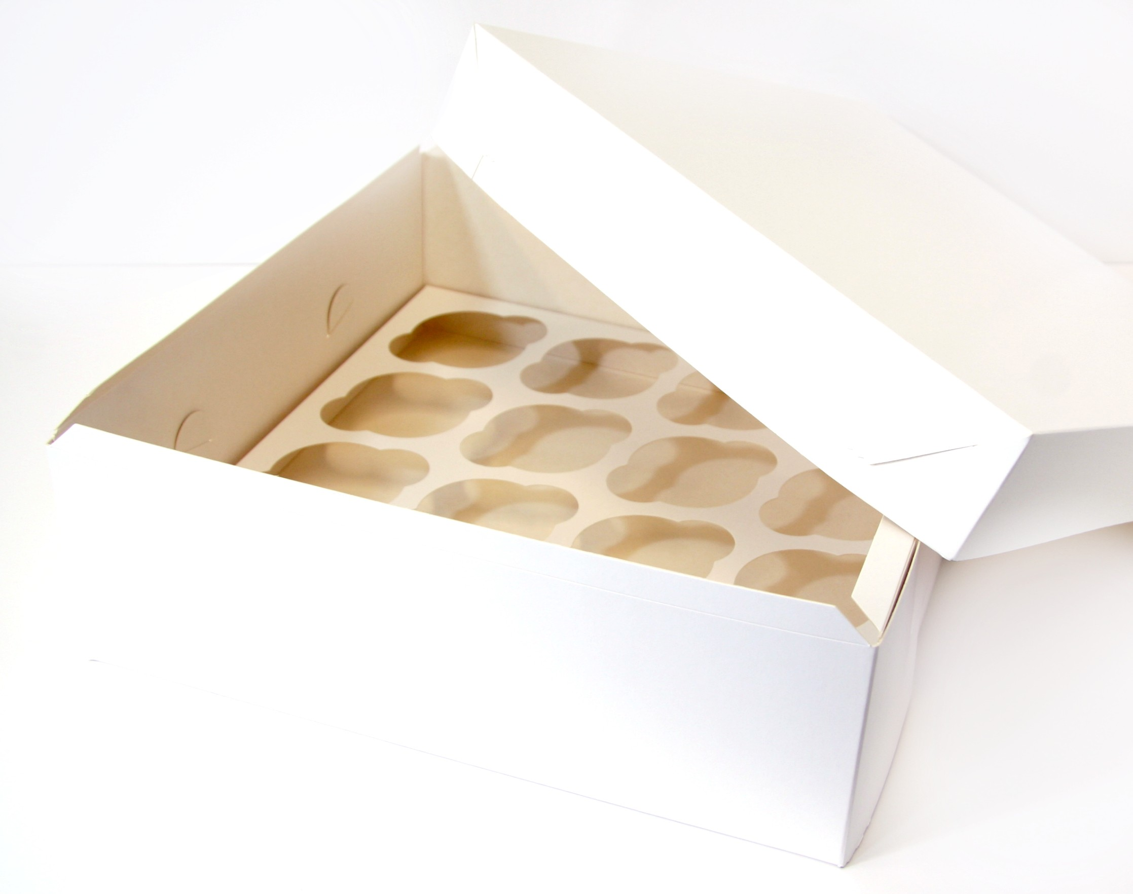 16 And 25 Hole Cupcake Boxes Sweet Success Products