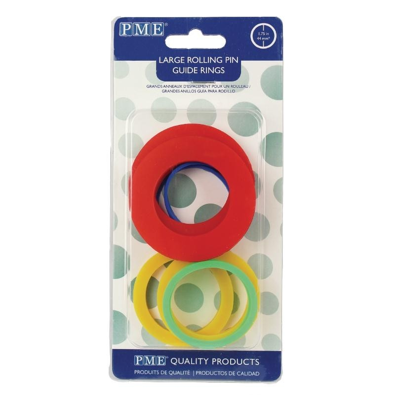 Rolling Pin Guide Rings Pme Sweet Success Products