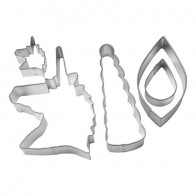 Unicorn 5 Piece Decorating Cutter Set