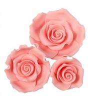 Pink Sugar Soft Roses - Mixed Box of 12