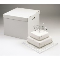 Heavy Duty Stacked Cake Boxes