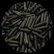 Polished Black Rod Sprinkles