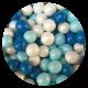 Blue Mix chocoballs