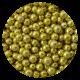 Gold Metallic Dragees 4mm