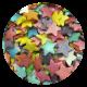 Large Rainbow Glimmer Stars