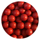 Red chocoballs